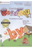 Preschool Prep Series: Meet the Sight Words, Vol. 3
