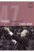 Berliner Philharmoniker/Claudio Abbado: Beethoven - Symphonies 4 &amp; 7