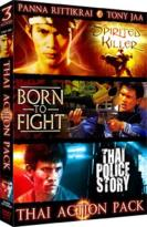 Thai Action Pack - Spirited Killer/ Born To Fight/ Thai Police Story