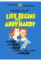 Andy Hardy Collection, The - Life Begins for Andy Hardy