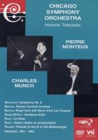 Chicago Symphony Orchestra: Historic Telecasts - Pierre Monteux / Charles Munch