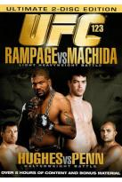 UFC 123: Rampage vs. Machida