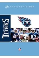 NFL Greatest Games Series - Tennessee Titans 3 Greatest Games