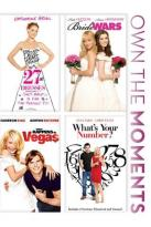 27 Dresses/Bride Wars/What Happens in Vegas/What's Your Number?