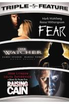 Fear/The Watcher/Rasing Cain - Triple Feature