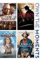Bandolero!/Mark of Zorro/300 Spartans/Quigley Down Under