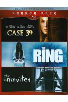 Horror Pack: Ring/Case 39/Uninvited