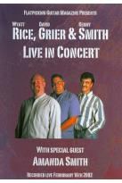Wyatt Rice/David Grier/Kenny Smith: Live in Concert