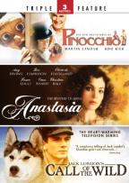 Pinocchio/Anastasia/Call of the Wild