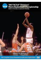 1987 NCAA Championship - Indiana Vs. Syracuse