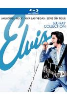 Elvis Blu-ray Collection: Jailhouse Rock/Viva Las Vegas/Elvis on Tour