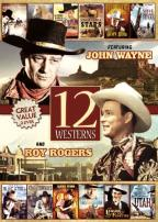 12 Westerns Featuring John Wayne and Roy Rogers