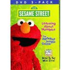 Sesame Street: Learning About Numbers/The Alphabet Jungle Game/Elmo's World: Head to Toe