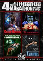 All Night Horror Marathon: 4 Movies, Vol. 2