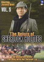 Return of Sherlock Holmes - Vol. 5: The Musgrave Ritual & The Man with the Twisted Lip