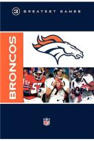 NFL Greatest Games Series: Denver Broncos 3 Greatest Games