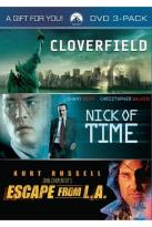 Cloverfield/ Nick of Time/ Escape from L.A.