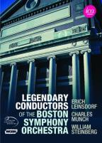 Legendary Conductors of the Boston Symphony Orchestra: Leinsdorf/Munich/Steinberg
