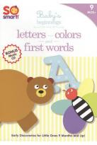 So Smart!: Letters/First Words/Colors