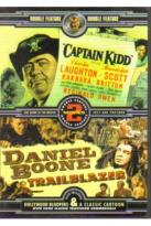 Captain Kidd/Daniel Boone: Trailblazer