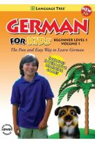 German for Kids: Beginner Level 1, Vol. 1