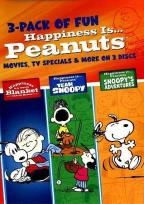 Happiness Is... Peanuts: 3-Pack Fun