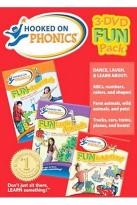 Hooked On Phonics Set - Fun-Damentals/Fun In Motion/Funtastic Animals