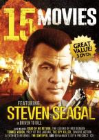 15 Movies: Featuring Steven Seagal and Chuck Norris