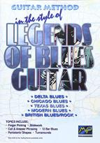 Guitar Method in the Style of Legends of Blues Guitar