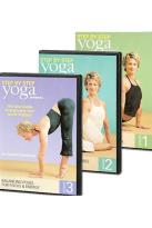 Yoga Journal's: Beginning Yoga Step by Step (3-Pack)