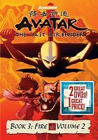 Avatar - The Last Airbender: Book 3 - Fire, Vols. 1 & 2