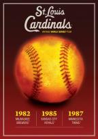 St. Louis Cardinals Vintage World Series Films 1980's