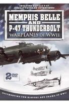 Memphis Belle and P-47 Thunderbolt - Warplanes of WW II