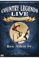 Country Legends Live Rex Allen Sr.