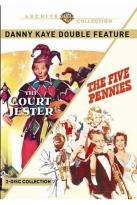 Danny Kaye Double Feature: The Court Jester/The Five Pennies
