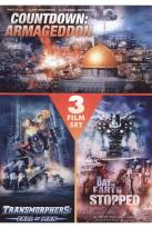 Countdown: Armageddon/Transformers: Fall of Man/The Day the Earth Stopped