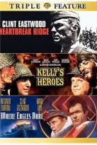 Heartbreak Ridge/Kelly's Heroes/Where Eagles Dare