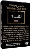VJWorld Visuals: Countdown Clock Timer
