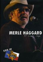 Merle Haggard - Live At Billy Bob's : Ol' Country Singer