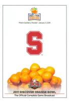 2011 Discover Orange Bowl: Stanford vs. Virginia Tech