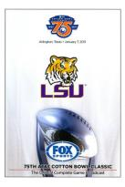 2011 AT&T Cotton Bowl Classic: LSU Tigers vs. Texas A&M