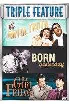 Awful Truth, The/Born Yesterday/His Girl Friday