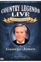 Country Legends Live George Jones