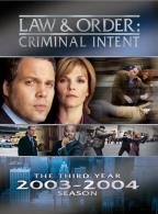 Law & Order: Criminal Intent - The Third Year