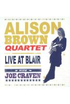 Alison Brown Quartet with Joe Craven: Live at Blair