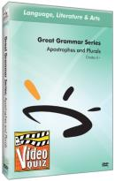 Great Grammar Series: Apostrophes and Plurals Video Quiz