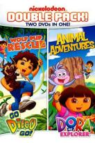 Dora & Diego Double Feature: Diego - Wolf Pup Rescue/Dora - Animal Adventures