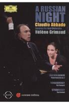 Claudio Abbado: A Russian Night - Rachmaninov/Tchaikovsky/Stravinsky