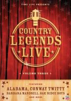 Country Legends Live Vol. 3