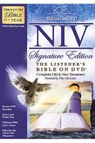 New International Version Listener's Bible On DVD Signature Edition